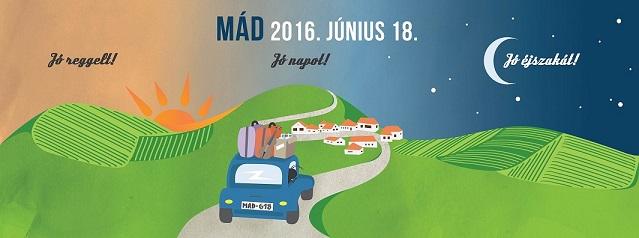 Flyer - Jó éjszakát Mád 2016