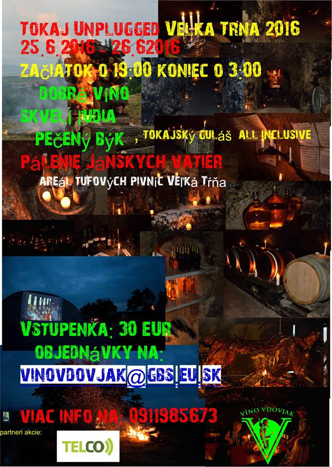 Flyer - TOKAJ UNPLUGGED 2016