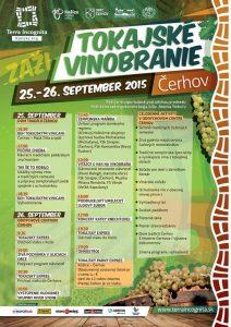 Tokajske vinobranie 2016 / Harvest Festival in Čerhov 2016