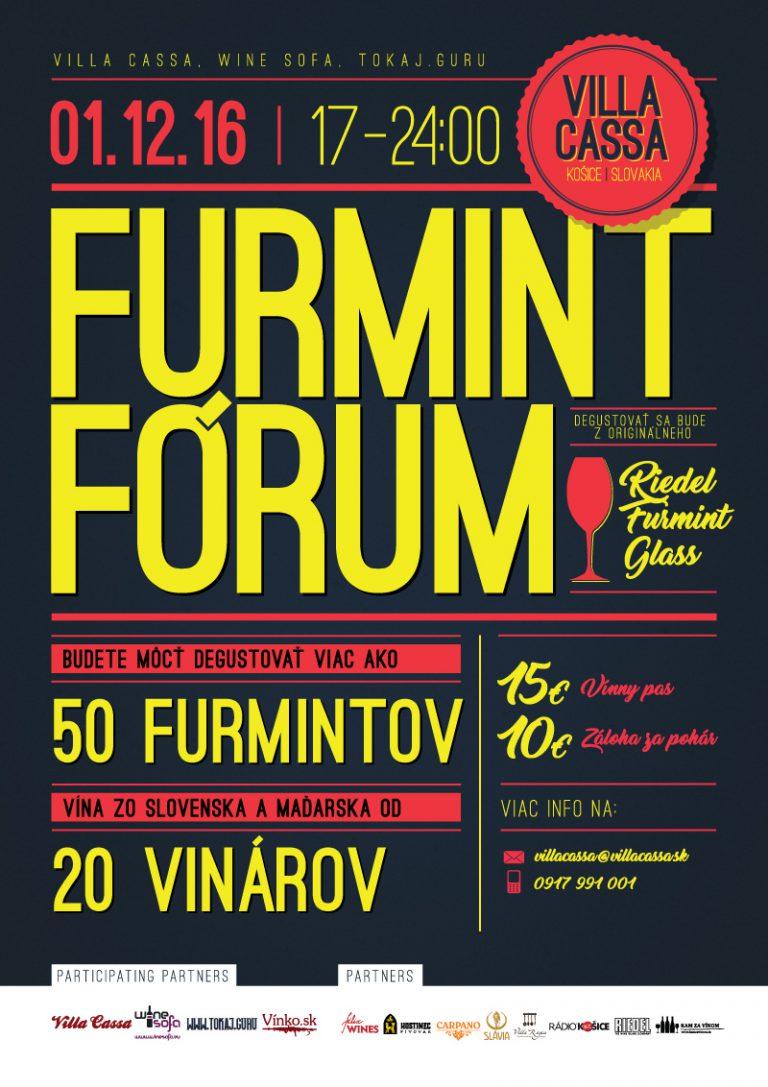 Flyer - Furmint Fórum