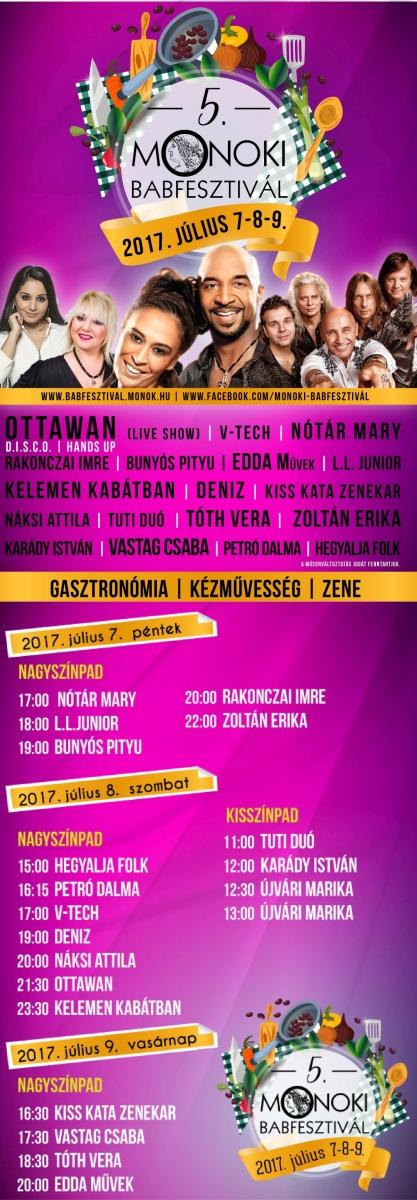 Flyer - MONOKI BABFESZTIVÁL 2017