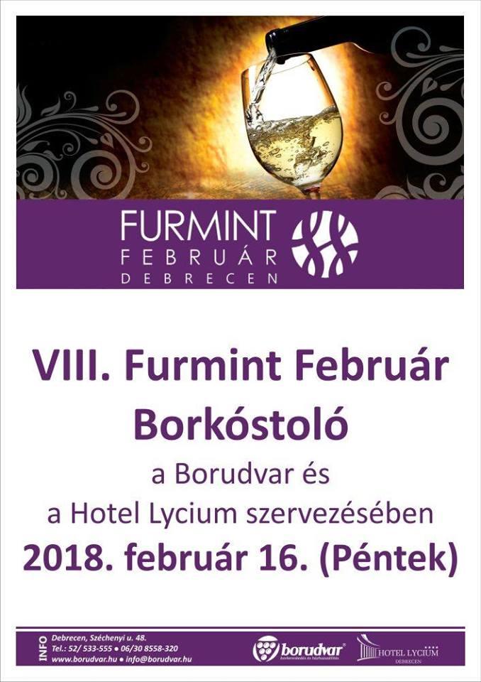 Flyer - FURMINT FEBRUÁR, DEBRECEN