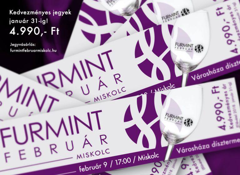 Flyer - FURMINT FEBRUÁR, MISKOLC